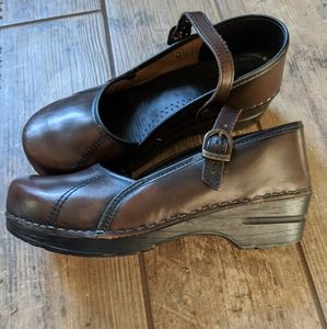 Dansko | Brown Leather Mary Jane Marcelle
